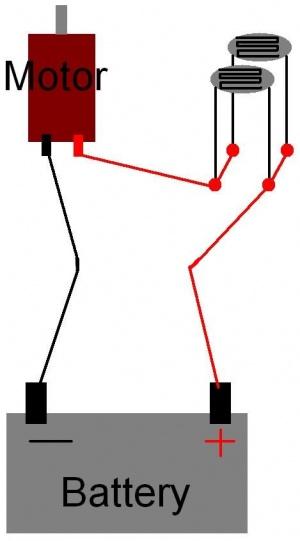 photoresistor circuit diagram – comvt, Circuit diagram
