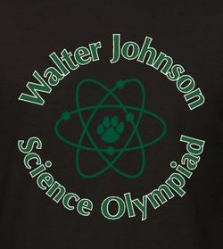 Walter Johnson High School Science Olympiad Student