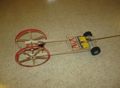 mousetrap car for speed and distance