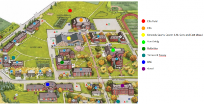 California University Of Pa Campus Map.Pennsylvania Science Olympiad Student Center Wiki